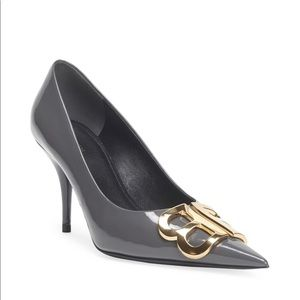 Balenciaga BB Patent Leather 80mm Pumps
